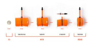 """Tubolito S-Tubo MTB 27,5"""" Slang 27,5 x 1,80-2,40, Presta 42 mm, 44 g"""