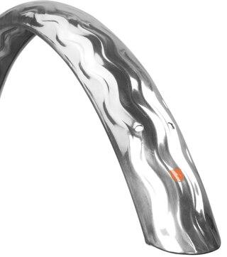 Velo Orange Wavy 650 58mm Skärmset Silver, Aluminium, 650c x58mm