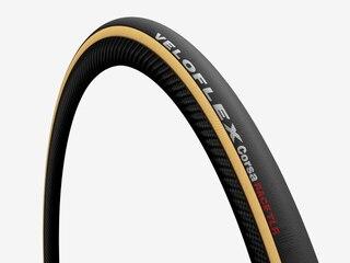 Veloflex Corsa RACE Tubeless Dekk Brun, 25mm