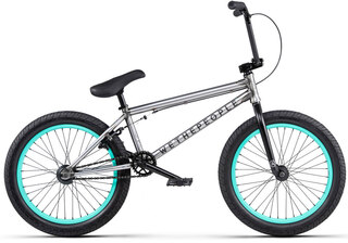 "WeThePeople Arcade 20"" BMX 2020 Matt Sølv, 21"" Top Tube"