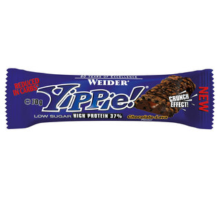 Weider Yippie 70g Proteinbar Chocolate - Lava