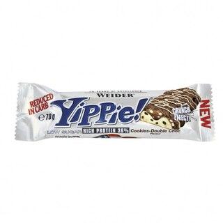 Weider Yippie 70g Proteinbar Cookie-Double Choco