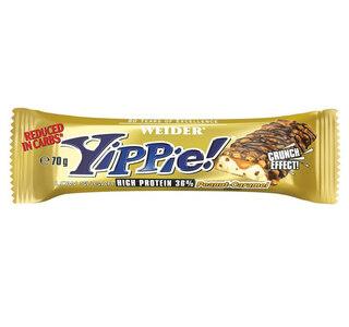 Weider Yippie 70g Proteinbar Peanut-Caramel