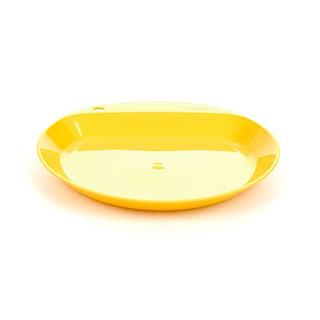 Wildo Camper Plate Flat tallrik Gul