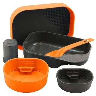 Wildo Camp-A-Box Original tallrikslåda Orange