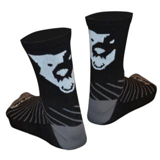 Wolftooth Sock Guy Ullsokker Sort, 5'' ankelhøyde