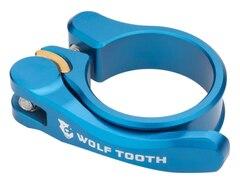 Wolftooth QR Setepinneklemme Blå, 31,8 mm