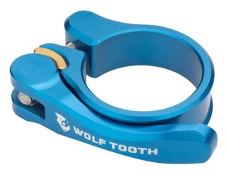 Wolftooth QR Setepinneklemme Blå, 34,9 mm