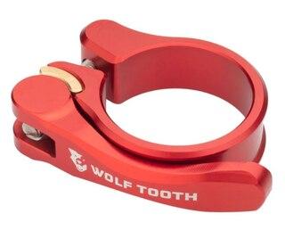 Wolftooth QR Setepinneklemme Rød, 34,9 mm
