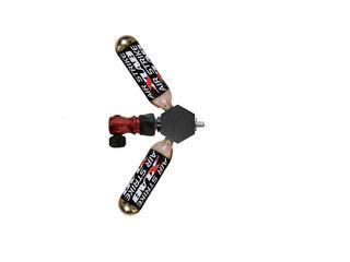 XLAB X-NUT CO2 Fäste CO2 patron + adapter fäste