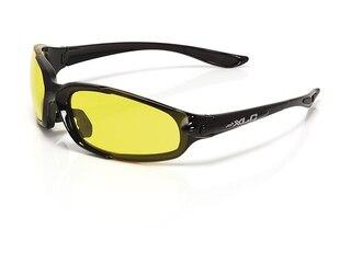 XLC SG-F02 Galapagos Sportglasögon Svart, Gul/Grå lins