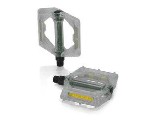 XLC PD-M16 Plattform Pedaler Transparent