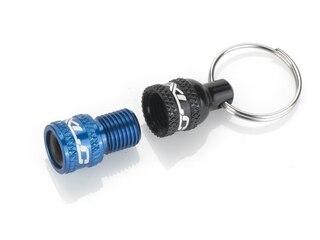 XLC Ventil Adapter Svart/Blå