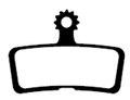 XON XBD-02E Bremseklosser Avid Code/Code R (2011-2014)