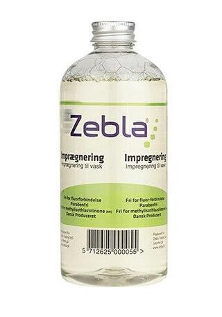 Zebla Waterproofing Wash 500ml, Gjenskaper impregneringen i tøyet
