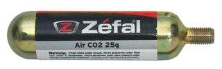Zefal 25g CO2 Patron 1 stk,gjenget