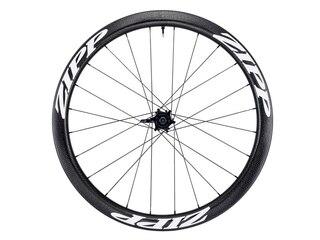 Zipp 303 Firecrest Carbon Disc Framhjul Sort/Hvit, Clincher/TL, 760g