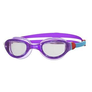 Zoggs Phantom 2.0 Junior Svømmebrille Lilla/Blå, Klar linse