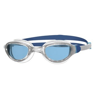 Zoggs Phantom 2.0 Svømmebrille Transparent/Blå, Blå linse