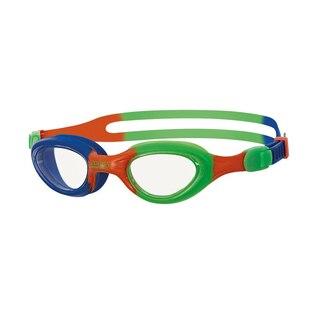 Zoggs Little Super Seal Svømmebrille Blå/Oransje/Grønn, 0-6 år