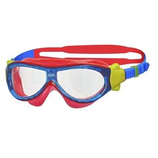 Zoggs Phantom Kids Mask Svømmebrille Blå/Rød, 0-6 år