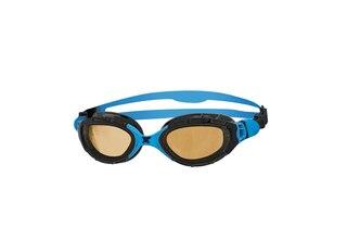 Zoggs Preda. Flex Polarized simglasögon Svart/Blå