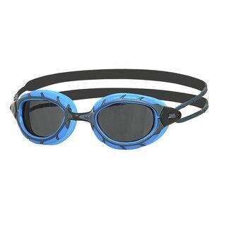 Zoggs Predator Svømmebrille Blå/Sort, Sotfarget linse