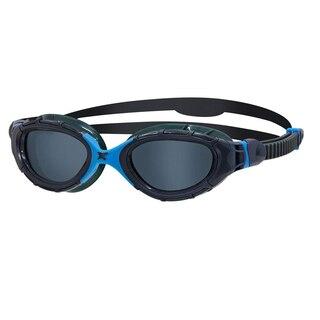 Zoggs Predator Flex Svømmebrille Grå, Sotfarget linse