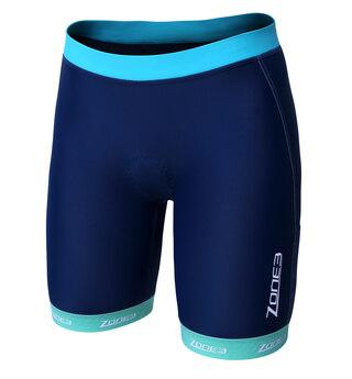Zone3 Lava Dame Tri Shorts Blå/turkis,  For langdistanse!