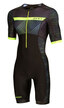 Zone3 Activate+ Short Sleeve Tri Suit Revolution Sort/Grønn