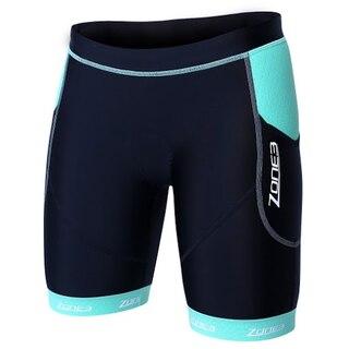 "Zone3 Aquaflo Plus Dame Tri Shorts Sort/mint grønn, Kåret til ""Best Buy""!"