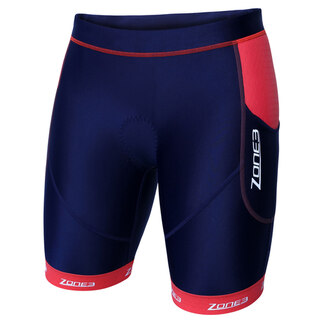 "Zone3 Aquaflo Plus Dame Tri Shorts Navy/Coral, Kåret til ""Best Buy""!"