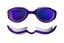 Zone3 Attack Svømmebriller Ultramyk og behagelig silikon