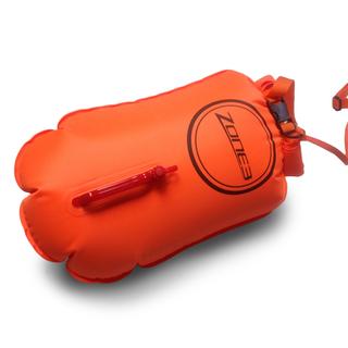 Zone3 Swim Buoy 28L Bag Oransje, For oppbevaring og sikkerhet!
