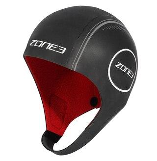 Zone3 Heat Tech Neopren Badehette Sort, Designet for kaldt vær!