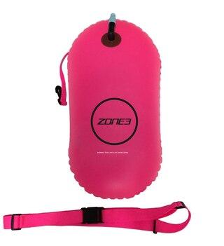Zone 3 Sikkerhetsbøye Rosa, Når du svømmer i åpent vatten!