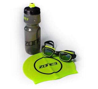Zone3 Stealth LTD ED Utstyrspakke Briller, Drikkeflaske, Svømmehette