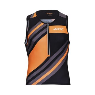 Zoot Ultra Tri Herre Singlet Racing Stripe, Ultra god komfort!