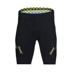 "Zoot Performance Tri 9"" Herre Shorts Volt Checkers, Str. S"